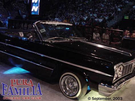 wwe eddie guerrero car david anthony s 1964 impala convertible lowrider from pura