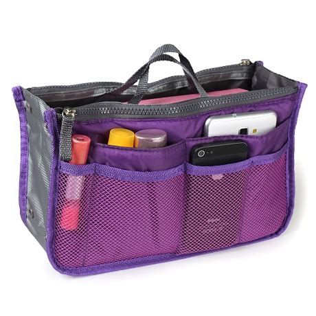 Bag Organizer slim bag in bag purse organizer assorted color