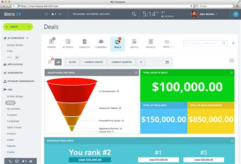 Bitrix24: Free CRM with VoIP