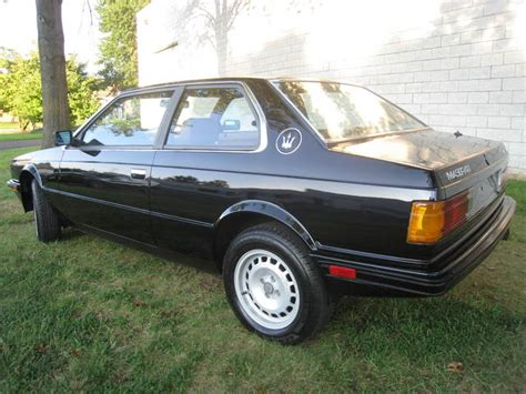 1985 maserati biturbo for sale 1985 maserati biturbo classic italian cars for sale