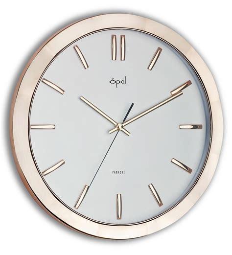 designer wall clock opal designer wall clock rose gold by opal online