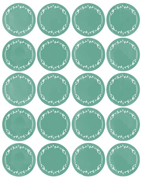 circle label template free kitchen spice jar pantry organizing labels worldlabel