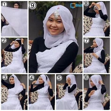 tutorial berhijab untuk pernikahan tutorial hijab untuk pesta hijab tutorial for party