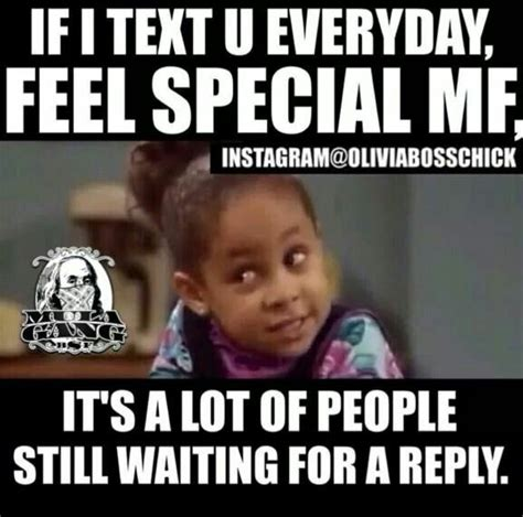 text  everyday feel special mf   lot