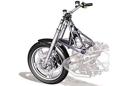 Motorrad Gabel Vibriert Beim Bremsen by Item Telelever