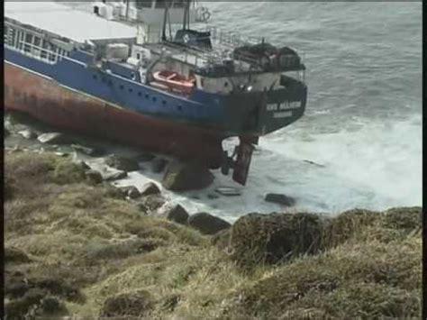 phoenix boats oy ms oliva runs aground tristan da cunha nightingale is