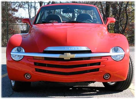chevy truck car chevrolet ssr car reviews