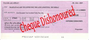 Refer To Drawer Cheque by Cheque Dishonoured A Step By Step Guide For Recourse