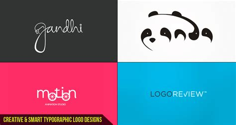 inspirational names for design creative smart typographic logo designs for you