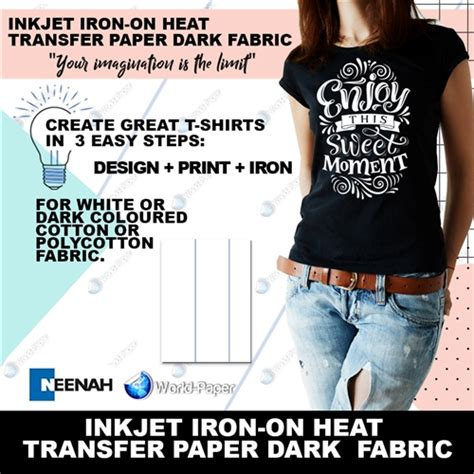 How To Make Heat Transfer Paper At Home - blue line heat transfer paper inkjet heat transfer paper