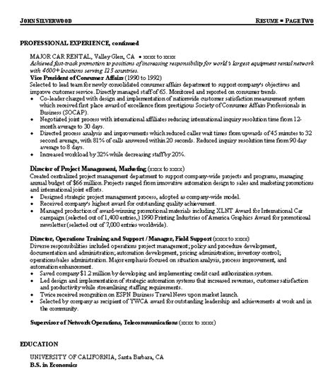 resume sle 2 call center director resume career resumes