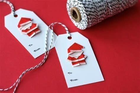 origami mini santa create extremely cheerful diy origami santa claus for your decor or as gifts