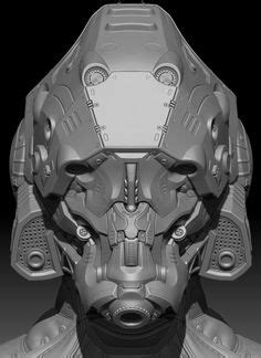 zbrush tutorial helmet zbrush the hard and cyborgs on pinterest