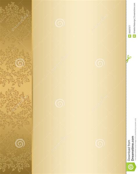 invitation card background templates golden invitation card template stock image image of