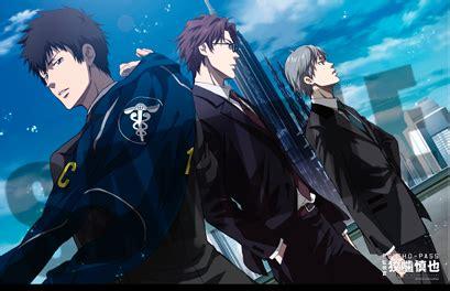 Psycho Pass Inspector Shinya Kogami 04 Oleh Natsuo S B14 80137 noitamina shop cafe theater by natsuo
