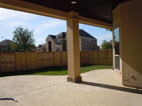 rear extended patio home backyard