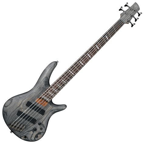 ibanez fanned fret bass 6 string ibanez srff805 fanned fret 5 string black stain at