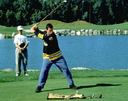 Weekend Diversion The Physics Of Happy Gilmore Starts