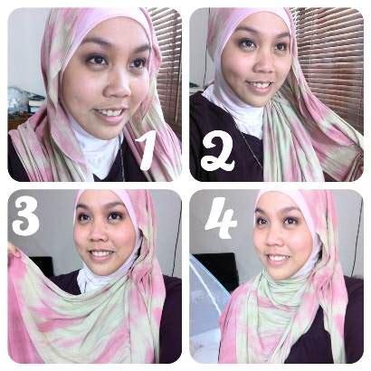 tutorial jilbab hijabers hijabers tutorial sakinah tutorial jilbab paris 4 pang kep