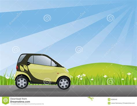 friendly car eco friendly car royalty free stock images image 9295949