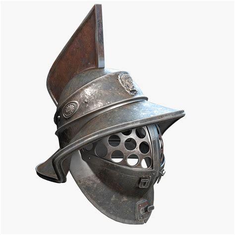 gladiator film helmet gladiator helmet 3d obj