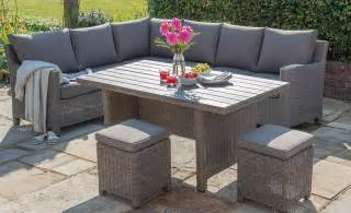 Luxury contemporary garden furniture casual dining garden dining