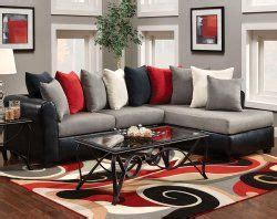 grey black couch chaise pillows dolphin  piece