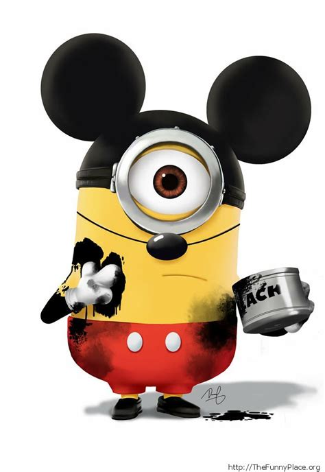 imagen fanny mikey funny minions thefunnyplace