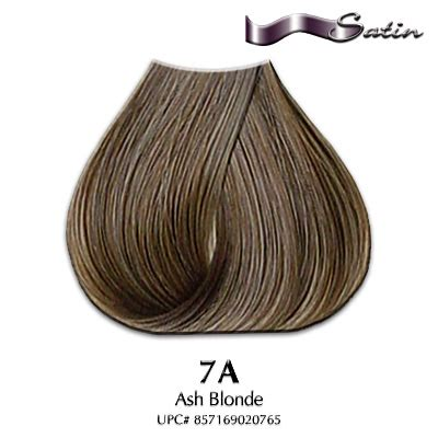 satin hair color satin hair color 7a ash hair coloring satin