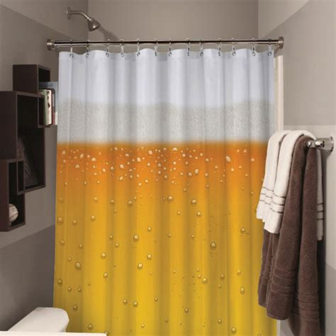 beer shower curtain beer oclock beer shower curtain novelty bathroom