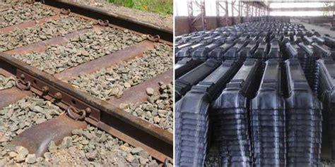 railway sleeper materials overview wood steel concrete
