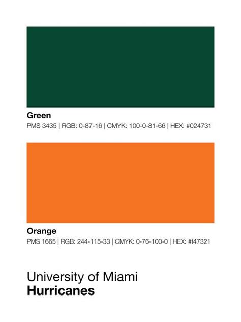 of miami colors 377 best it s all about the u images on miami