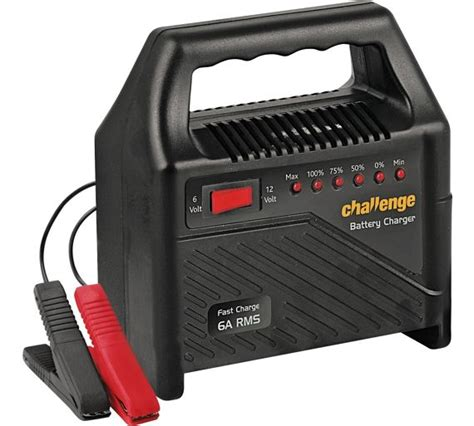 challenge car battery charger buy challenge 6 12v automatic car battery charger at