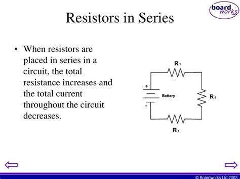 adding resistors in series increases the total resistance ppt series and parallel simple circuits powerpoint presentation id 2317148