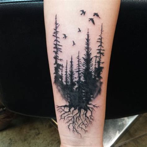 15 best images about forest tattoos on pinterest trees