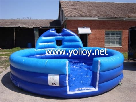backyard foam pit yolloy outdoor inflatable foam pit for foam party for sale