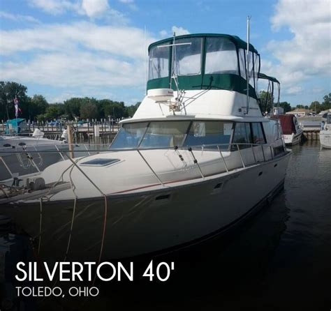 fishing boats for sale toledo ohio for sale used 1982 silverton 40 aft cabin in toledo ohio