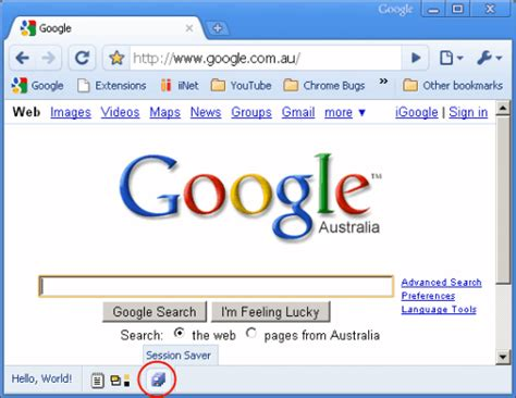 google chrome session saver extension ghacks tech news