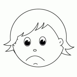 Sad Coloring Pages Www Pixshark Com Images Galleries Sad Coloring Page