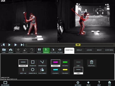 computer golf swing analysis tournament play high definition golf simulators