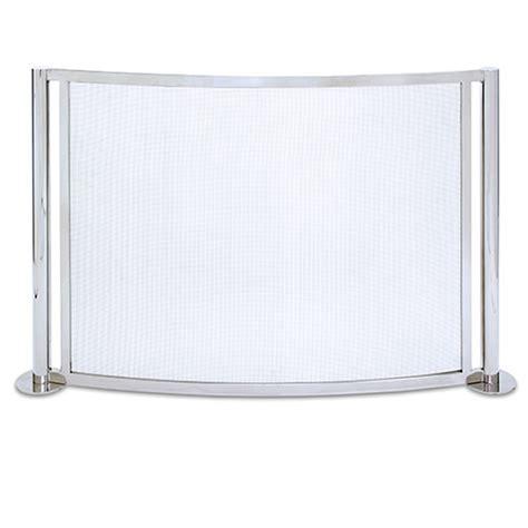brushed nickel fireplace screen regarding your own home