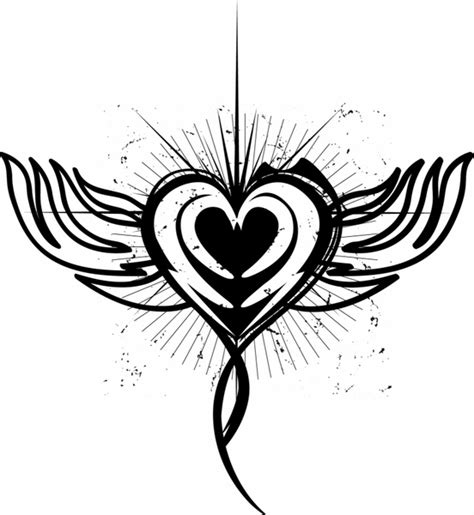 tattooed heart free download free heart tattoo downloads clipart library