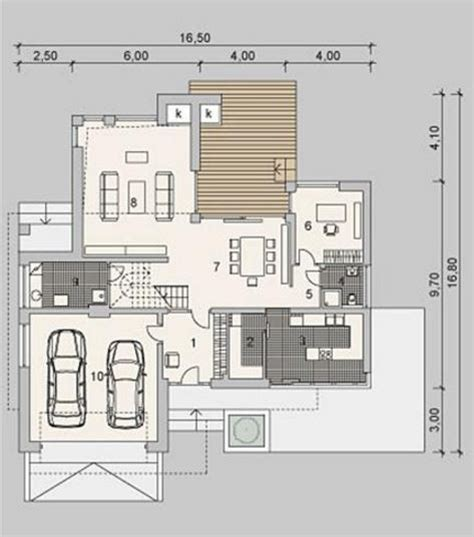 casas chalets chalet de dos plantas planos