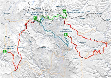 the course and maps