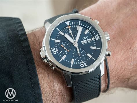 Gc Rubber Model Expedition iwc aquatimer chronograph edition expedition jacques yves cousteau review with exclusive
