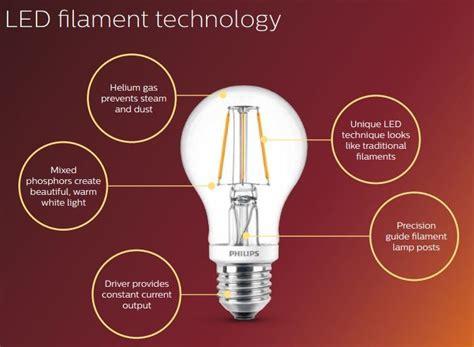 Filament Led Philips Classic Design 2 Watt philips led classic gls filament 5 5w 40w 2700k b22 dimmable
