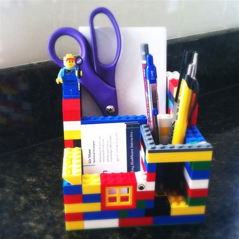 Lego Desk Organizer 20 Creative Uses Of Lego You Need To See Hongkiat