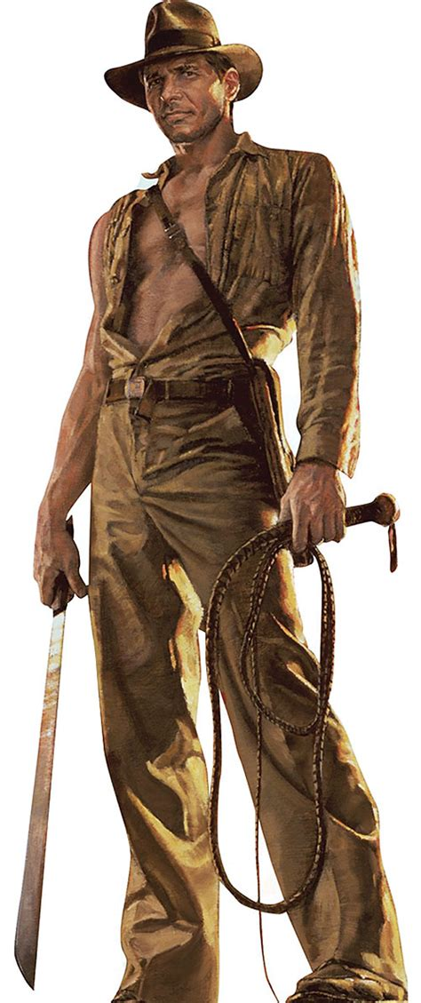 Harrison Buffs Up For Indy by Indiana Jones Harrison Ford Character Profile And