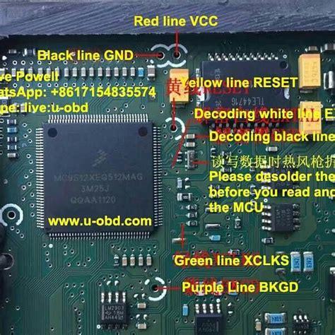 wiring diagram  vvdi prog read delphi mt