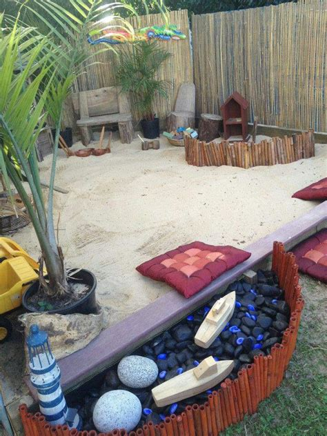 backyard sandpit best 25 backyard beach ideas on pinterest patio